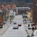Bredgade i Langå