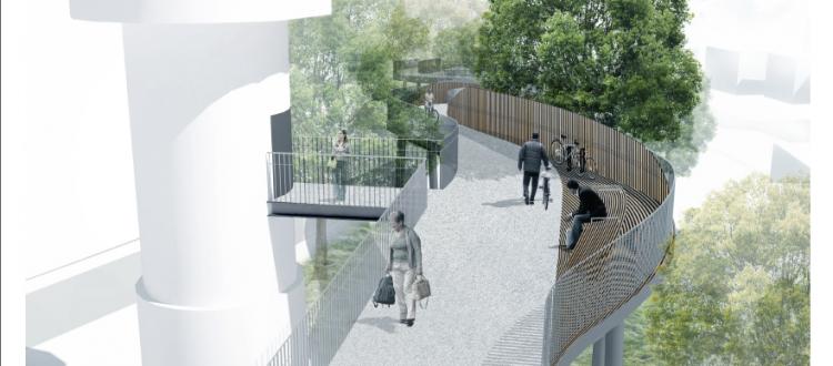 Stationsbro Ollendorff forslag