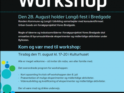 Invitation til workshop om Bredgade 11.8.2015