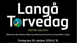 Torvedag i Langå 28. oktober 2016