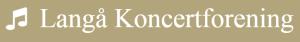 Langå Koncertforening logo