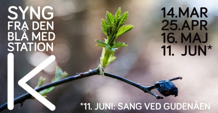 Syng fra den blå forår 2019