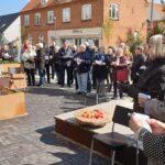 Bredgade i Langå indvies med sang