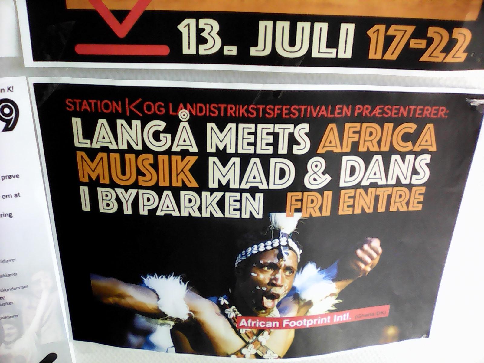 Koncert Langå meets Africa