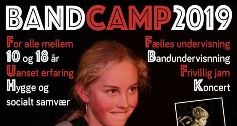 Band Camp 2019 på Station K