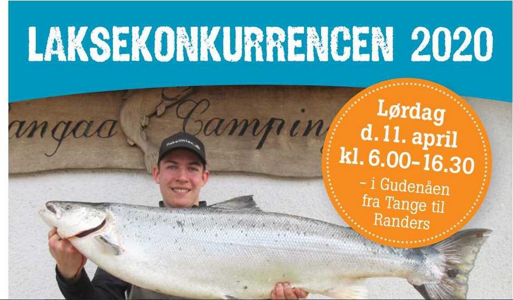 Laksekonkurrence i Langå 11.4.2020