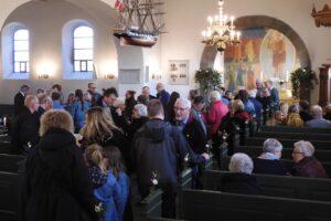 Langå kirke fyldt da ny præst blev indsat